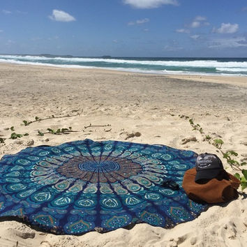 Mandala Patterned Blanket [7278898311]