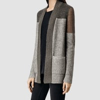 Womens Air Cardigan (Khaki) | ALLSAINTS.com