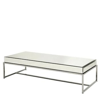 Mirror Glass Top Coffee Table | Eichholtz Beverly Hills