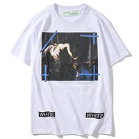 Off White Fashion Casual Shirt Top Tee