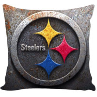 Pittsburgh Steelers Couch Pillow