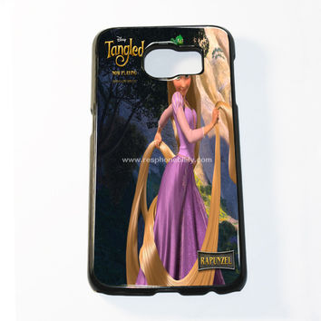 Disney Princess Rapunzel On Tangled Samsung Galaxy S6 and S6 Edge Case