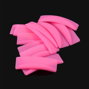 New Arrival 6Pairs High Quality Silicone Eyelash Perming Curler Curling False Fake Eye Lashes Shield Pad Makeup Tool Kit Pretty