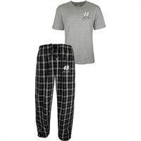 Concept Sports Jimmie Johnson Men's Draft Pick Pajama Set - http://www.shareasale.com/m-pr.cfm?merchantID=7124&userID=1042934&productID=555876690 / Jimmie Johnson