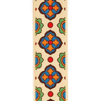 D'Addario Latin Tile Art Guitar Strap