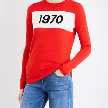 BELLA FREUD - 1970 merino wool sweater | Selfridges.com