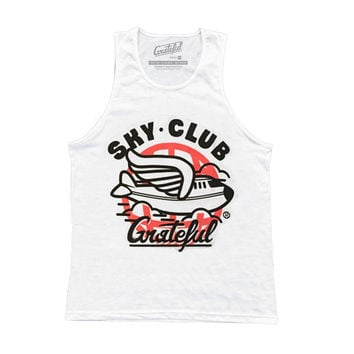Sky Club / Infrared Tank - White