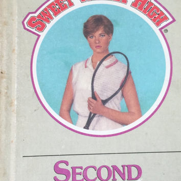 "Vintage 1980's book for teen girls ""Sweet Valley High Second Chance"""