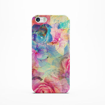 iPhone 6 Case flowers Bohemian iPhone 5 case Floral iPhone 6 Plus case iPhone 5C case flower iPhone 4 Case flower triangle phone case