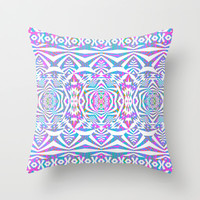 Mix #587 Throw Pillow by Ornaart