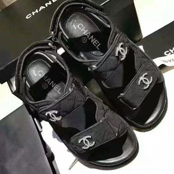 shosouvenir CHANEL Fashionable casual sandals