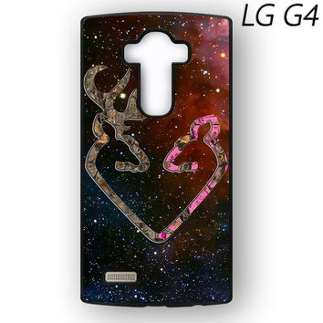 Browning Style Heart Buck Doe Deer Sticker Decal Duck Hunting for LG G3/G4 phonecases