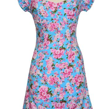 Toff Dress in Cherry Blossom print