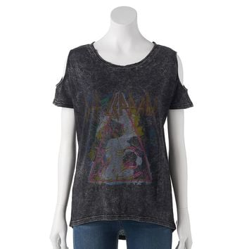 Rock & Republic ''Def Leppard'' Graphic Tee - Women's, Size: