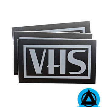 VHS Sticker (Set of 3)