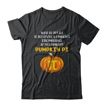 Math Teacher Funny Halloween Pumpkin Pi