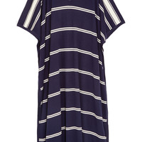 Madeleine Thompson - Bosphorous striped cashmere and silk-blend kaftan