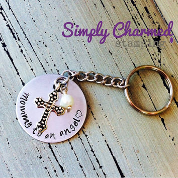 Mommy To An Angel Keychain/Necklace