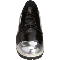 Miu Miu Asymmetric Cap Toe Oxford at Barneys.com