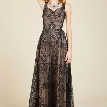 Faith in Flawlessness Maxi Dress | Mod Retro Vintage Dresses | ModCloth.com