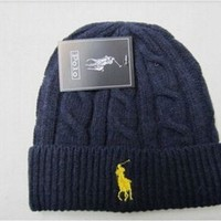 Polo Ralph Lauren Navy Blue Beanie