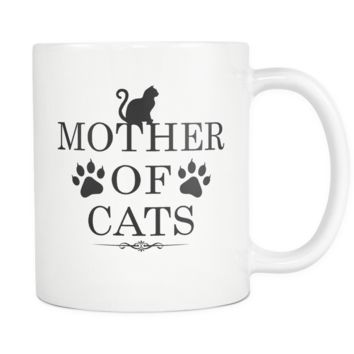 Mother Of Cats Coffee Mug, 11 Ounce