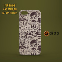 VILLIANS OF HORROR Design Custom Case by ditto! for iPhone 6 6 Plus iPhone 5 5s 5c iPhone 4 4s Samsung Galaxy s3 s4 & s5 and Note 2 3 4