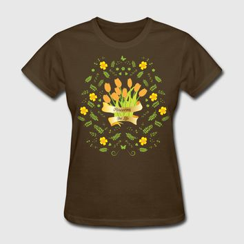 Flowering The Life T-Shirt | Spreadshirt