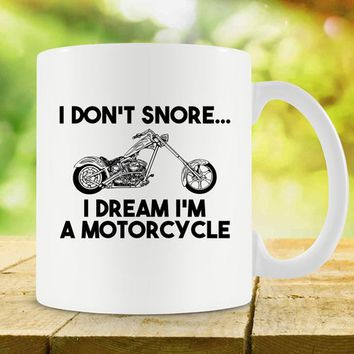 Funny Coffee Mug Motorcycle Gifts For Him Motorcycle Mug Best Coffee Cup Biker Mug Motorcycle Lover Gift Retired Mug Ceramic Mug - SA710