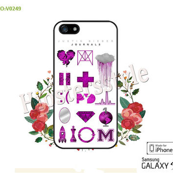 Phone Cases, iPhone 5/5S Case, iPhone 5C Case, iPhone 4/4S Case, Justin Bieber Journals Galaxy S3 S4 S5 Note 2 Note 3 -B0249