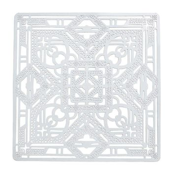 Filigree Placemat in White - Set of 4