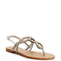 Sale-rhinestone Braided Sandals
