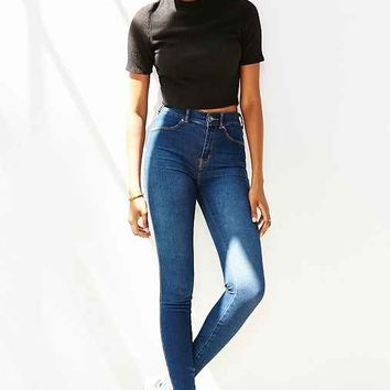 Dr. Denim Plenty Mid-Rise Super-Skinny Jean