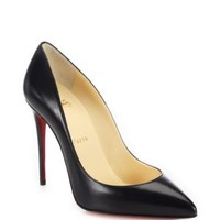 Christian Louboutin - So Kate 120 Leather Point Toe Pumps