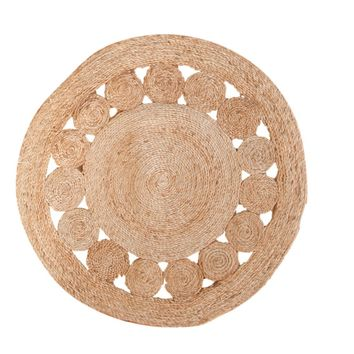 Jute Round Natural New Carpet Collection