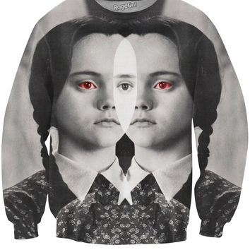 Wednesday Addams Crewneck Sweatshirt