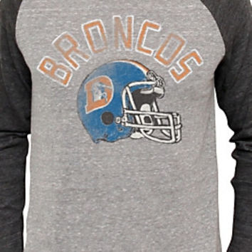 Junk Food Clothing NFL Denver Broncos Raglan