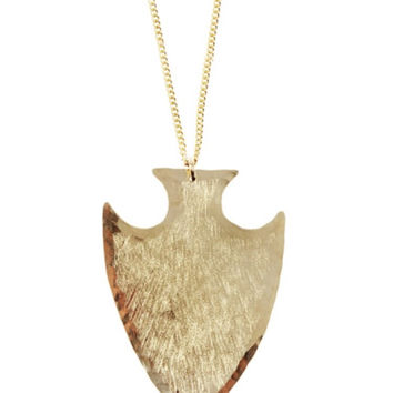 Ija Large Arrowhead Necklace