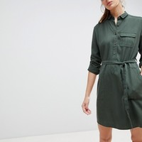 Jack Wills Helford Belted Shirt Dress at asos.com