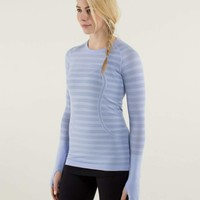 Run: Swiftly Tech Long Sleeve *Stripe