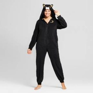 Women's Plus Size Cat Union Suit - Xhilaration™