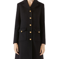 Gucci Wool Coat with Double-G
