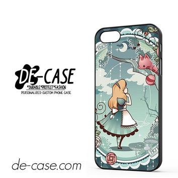 Disney Alice In Wonderland Wallpaper For Iphone 5 Iphone 5S Case Phone Case Gift Gift Present