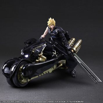 Cloud Strife & Fenrir - Play Arts Kai - Final Fantasy VII (Pre-order)