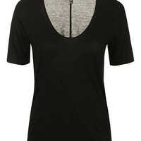 Super-Soft V-Front Tee - Tops - Clothing