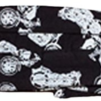 Buy Caps and Hats Motorcycle Biker Skull Cap Doo Rag Durag Mens One Size Black