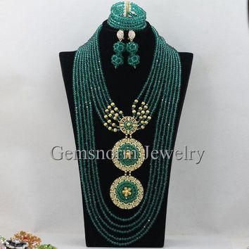 Crystal Indian Jewelry Sets  WB855
