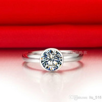 sona diamond ring classic, simple package inserts paragraph one karat silver finger ring 18K gold pt950 stamp set