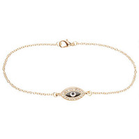 Evil Eye Anklet - Multi