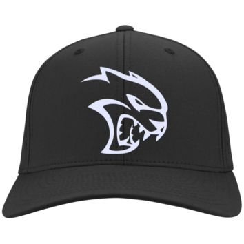 DODGE HELLCAT C813 Port Authority Flex Fit Twill Baseball Cap